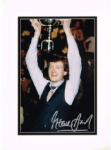 Steve Davis Autograph Signed Photo - Snooker